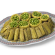 Moroccan meal with Cardoon, stuffed artichoke hearts with green peas - PhotoDune Item for Sale