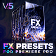 Presets Pack for Premiere Pro: Effects, Transitions, Titles, LUTS, Duotones, Sounds - VideoHive Item for Sale