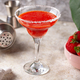 Strawberry Margarita cocktail in glass - PhotoDune Item for Sale