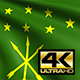 Adygea Flag 4K - VideoHive Item for Sale