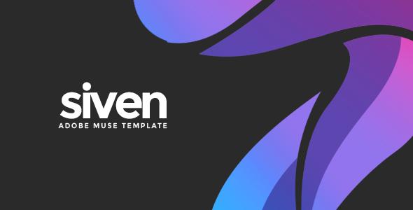 Siven - Adobe Muse Template