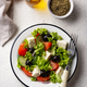 Traditional Greek salad with feta - PhotoDune Item for Sale