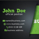 Green Business Card 4 Variation - GraphicRiver Item for Sale