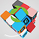 Abstract Rubiks Cube Logo Reveal - VideoHive Item for Sale
