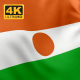 Flag of Niger - 4K - VideoHive Item for Sale