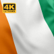 Flag of Ivory Coast - 4K - VideoHive Item for Sale