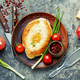 Homemade Adjarian khachapuri - PhotoDune Item for Sale