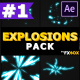 2D Explosion Elements | After Effects - VideoHive Item for Sale