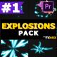 2D Explosion Elements | Premiere Pro MOGRT - VideoHive Item for Sale