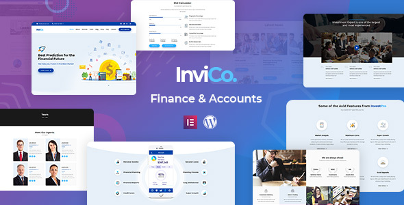 Invico - Consulting Theme