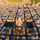 Barcelona street aerial view with beautiful patterns in Spain - PhotoDune Item for Sale