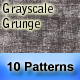 "10 ""Grayscale Grunge"" Seamless Patterns - GraphicRiver Item for Sale"