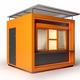 Modern design store booth 3d rendering - PhotoDune Item for Sale