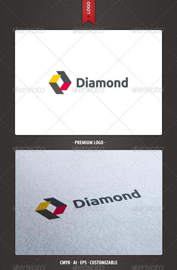 Diamond Logo Template - Abstract Logo Templates