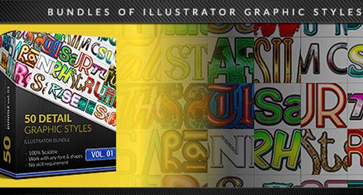 Bundles of Illustrator Styles