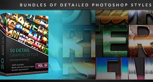Bundles of Photoshop Styles