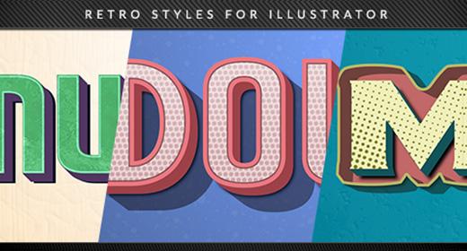 Retro Illustrator Styles