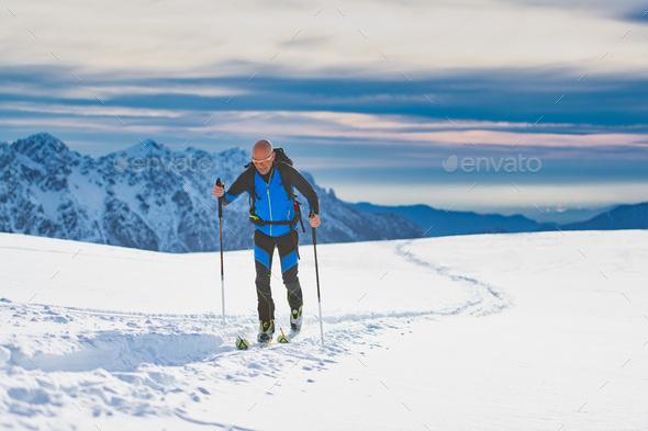 Ski De Randonnée - Stock Photo - Images