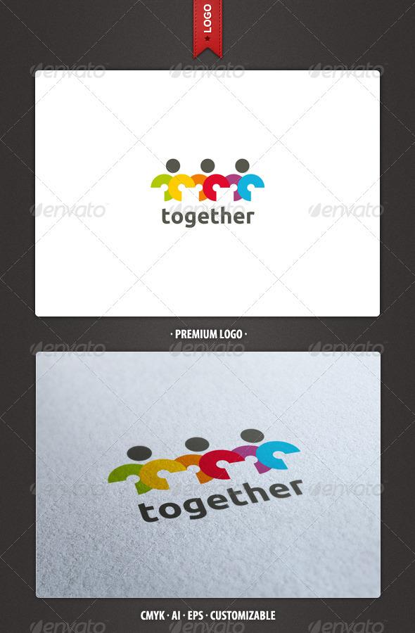 Together Logo Template - Humans Logo Templates