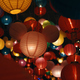 The vivid color of the lantern in Chinese new year - PhotoDune Item for Sale