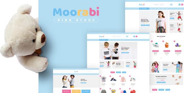Moorabi - Kids Store HTML Template