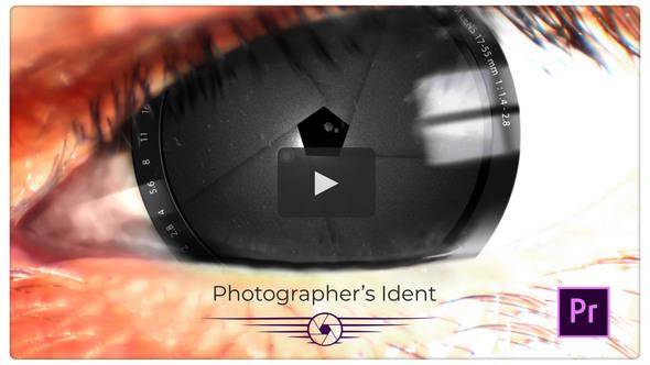 Photographer Ident Animation