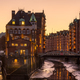 The warehouses of the old Speicherstadt - PhotoDune Item for Sale