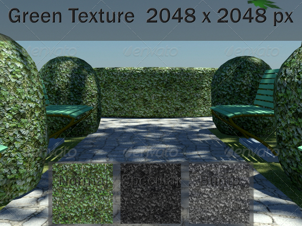 Green Texture - 3DOcean Item for Sale