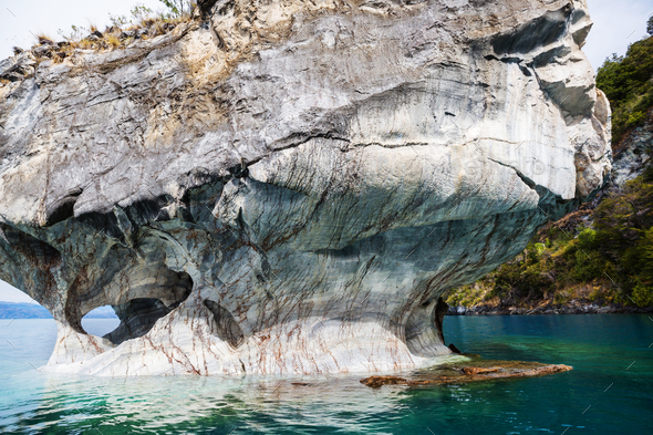 Marble caves - Stock Photo - Images