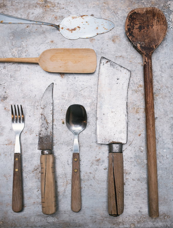 Vintage Kitchen Tools Stock Photo By Viki2win Photodune