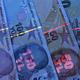 Turkish money in UV rays - PhotoDune Item for Sale