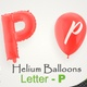 Balloons With Letter – P - VideoHive Item for Sale