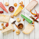 Different kinds of cheeses - PhotoDune Item for Sale