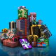 Gift Boxes Element 3D Pack - VideoHive Item for Sale