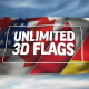 Unlimited 3D Flags - VideoHive Item for Sale