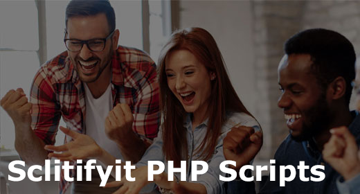 Sclitifyit PHP Scripts