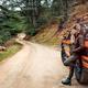 Female traveling along mountains - PhotoDune Item for Sale