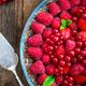 Homemade Chocolate Tart with Berries - PhotoDune Item for Sale