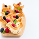 Homemade Filo Pastry Baskets with Mascarpone Cream and Berries - PhotoDune Item for Sale