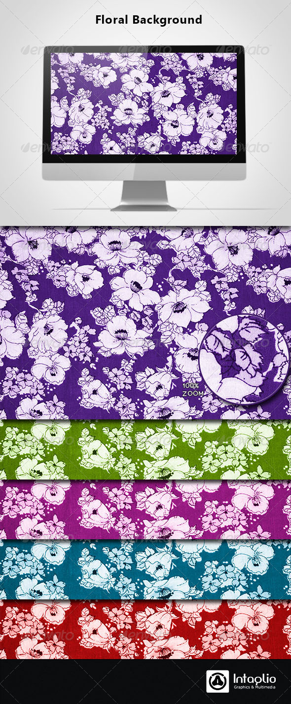 Floral Background 14 - Backgrounds Graphics