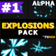 2D Explosion Elements | Motion Graphics Pack - VideoHive Item for Sale