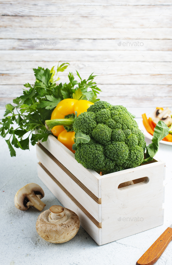 raw vegetables - Stock Photo - Images