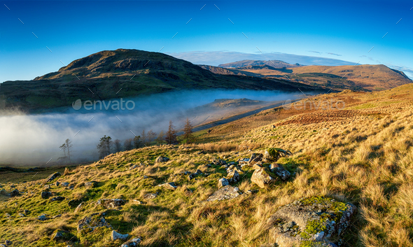 The Crimea Pass in Wales - Stock Photo - Images
