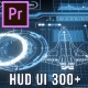 HUD UI Pack 300+ for Premiere Pro - VideoHive Item for Sale