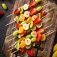 Fruit skewers, healthy summer snack - PhotoDune Item for Sale
