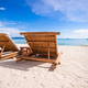 Beach wooden chairs for vacations and summer getaways in Boracay - PhotoDune Item for Sale