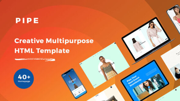 Lovely Pipe - HTML Responsive Multi Purpose Template
