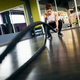 Young and athletic woman using training ropes in a gym - PhotoDune Item for Sale