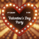 Valentine's Day Light Sign - VideoHive Item for Sale