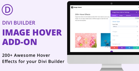 Divi Builder Image Hover Add-on